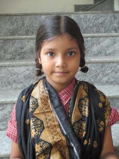 Help Riya by becoming a child sponsor. Sponsoring a child is a rewarding and heartwarming experience.