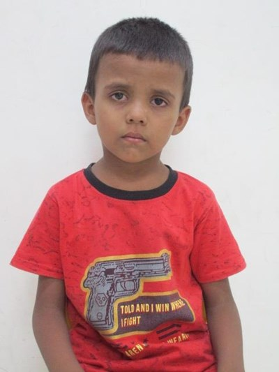 Help Priyanshi by becoming a child sponsor. Sponsoring a child is a rewarding and heartwarming experience.