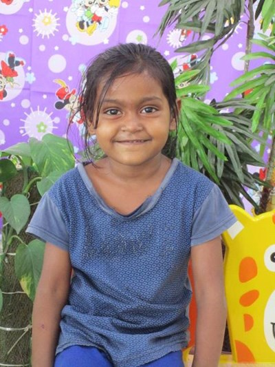 Help Ridhika by becoming a child sponsor. Sponsoring a child is a rewarding and heartwarming experience.