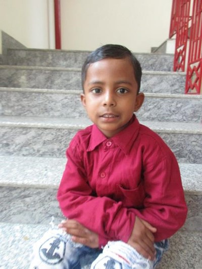Help Aryan by becoming a child sponsor. Sponsoring a child is a rewarding and heartwarming experience.