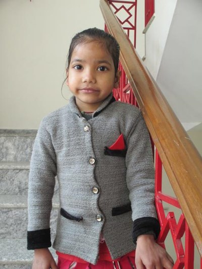 Help Vartika by becoming a child sponsor. Sponsoring a child is a rewarding and heartwarming experience.