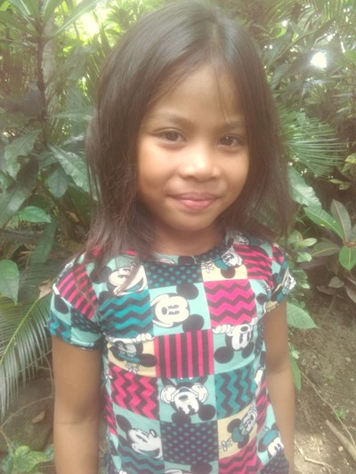 Help Lyka  L. by becoming a child sponsor. Sponsoring a child is a rewarding and heartwarming experience.