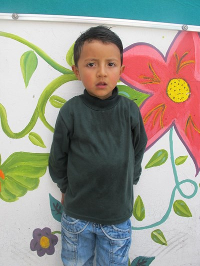 Help Ismael Sebastian by becoming a child sponsor. Sponsoring a child is a rewarding and heartwarming experience.
