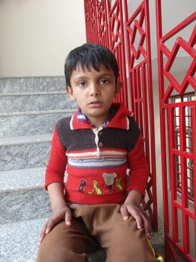 Help Bhawani by becoming a child sponsor. Sponsoring a child is a rewarding and heartwarming experience.