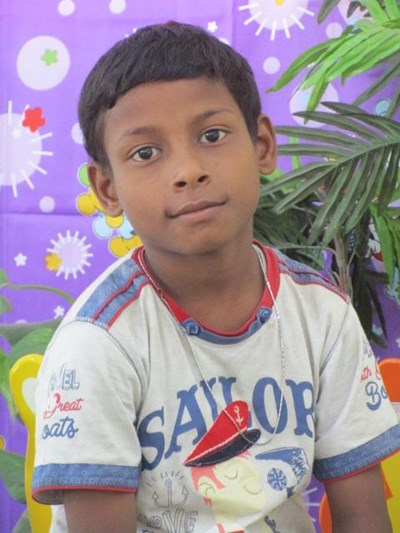 Help Dinesh by becoming a child sponsor. Sponsoring a child is a rewarding and heartwarming experience.