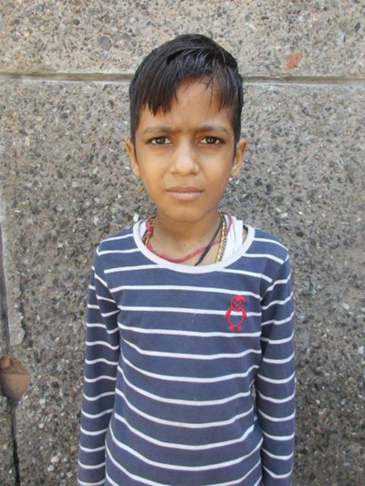 Help Naitik by becoming a child sponsor. Sponsoring a child is a rewarding and heartwarming experience.