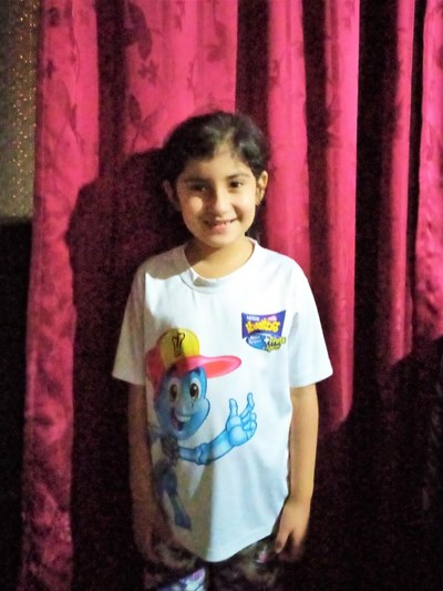 Help Rafaela by becoming a child sponsor. Sponsoring a child is a rewarding and heartwarming experience.