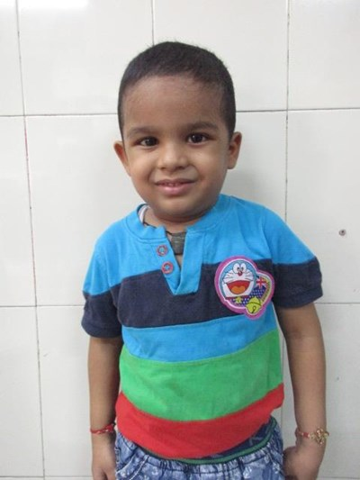 Help Virat by becoming a child sponsor. Sponsoring a child is a rewarding and heartwarming experience.