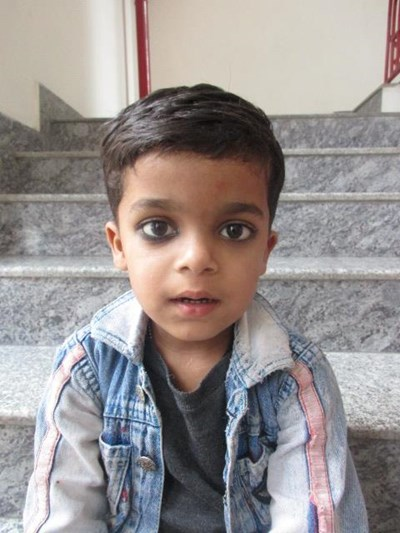 Help Abhinav by becoming a child sponsor. Sponsoring a child is a rewarding and heartwarming experience.