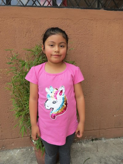 Help Nazli Liseth by becoming a child sponsor. Sponsoring a child is a rewarding and heartwarming experience.