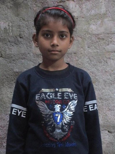 Help Janvi by becoming a child sponsor. Sponsoring a child is a rewarding and heartwarming experience.