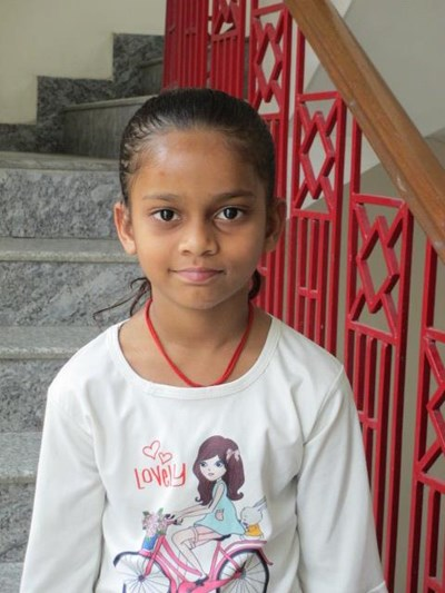 Help Nitya by becoming a child sponsor. Sponsoring a child is a rewarding and heartwarming experience.