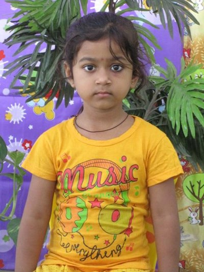 Help Shivanya by becoming a child sponsor. Sponsoring a child is a rewarding and heartwarming experience.