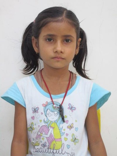 Help Vibha by becoming a child sponsor. Sponsoring a child is a rewarding and heartwarming experience.