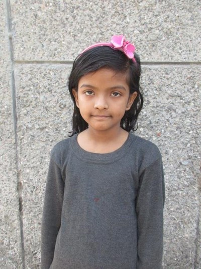 Help Tanvi by becoming a child sponsor. Sponsoring a child is a rewarding and heartwarming experience.