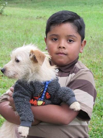 Ayude a Anderson Miguel apadrinándole hoy. El apadrinamiento es una experiencia hermosa y gratificante.