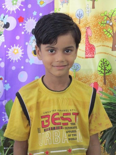Help Mohd by becoming a child sponsor. Sponsoring a child is a rewarding and heartwarming experience.