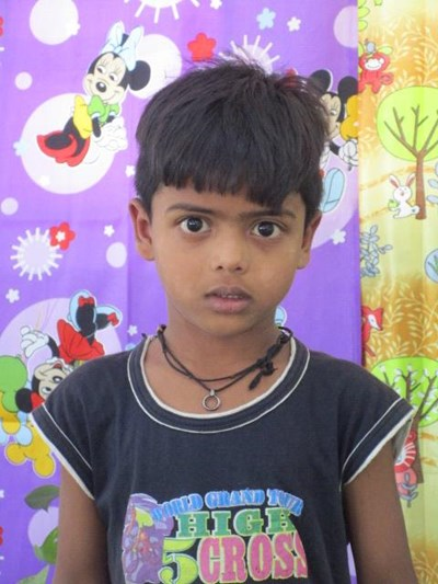 Help Shivam by becoming a child sponsor. Sponsoring a child is a rewarding and heartwarming experience.