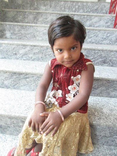 Help Niyati by becoming a child sponsor. Sponsoring a child is a rewarding and heartwarming experience.