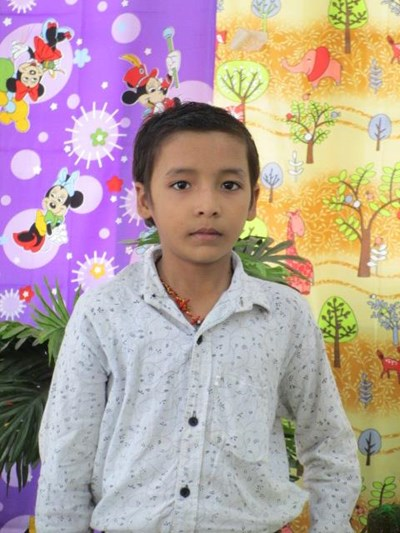 Help Nitish Kumar by becoming a child sponsor. Sponsoring a child is a rewarding and heartwarming experience.