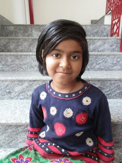 Help Karina by becoming a child sponsor. Sponsoring a child is a rewarding and heartwarming experience.