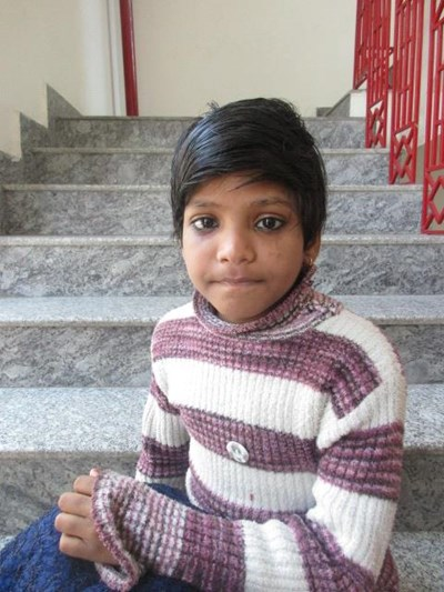 Help Pallvi by becoming a child sponsor. Sponsoring a child is a rewarding and heartwarming experience.