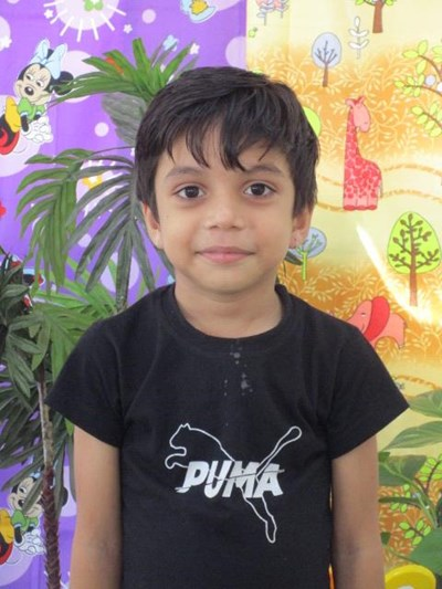 Help Divansh by becoming a child sponsor. Sponsoring a child is a rewarding and heartwarming experience.
