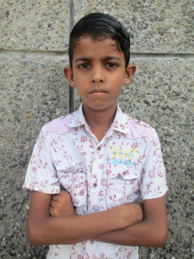 Help Prem by becoming a child sponsor. Sponsoring a child is a rewarding and heartwarming experience.
