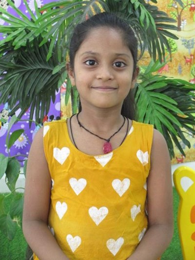 Help Ankita by becoming a child sponsor. Sponsoring a child is a rewarding and heartwarming experience.