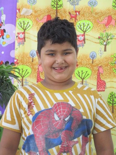 Help Naksh by becoming a child sponsor. Sponsoring a child is a rewarding and heartwarming experience.