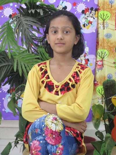 Help Alfisa by becoming a child sponsor. Sponsoring a child is a rewarding and heartwarming experience.