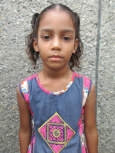 Help Aaditri by becoming a child sponsor. Sponsoring a child is a rewarding and heartwarming experience.