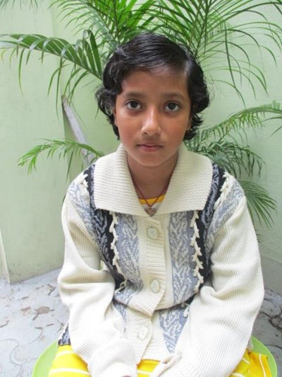 Help Shwantika by becoming a child sponsor. Sponsoring a child is a rewarding and heartwarming experience.