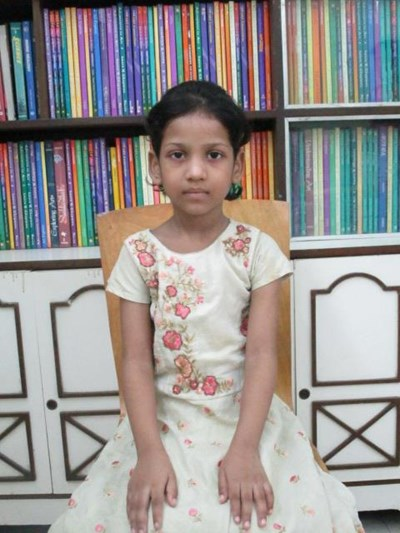 Help Farazia by becoming a child sponsor. Sponsoring a child is a rewarding and heartwarming experience.