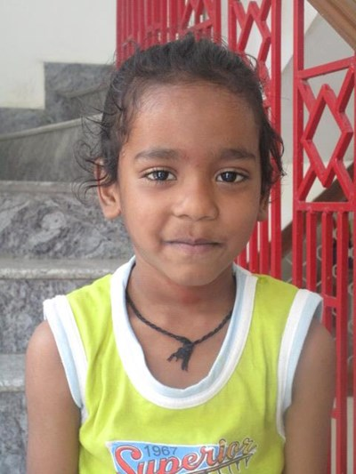 Help Abhnish by becoming a child sponsor. Sponsoring a child is a rewarding and heartwarming experience.