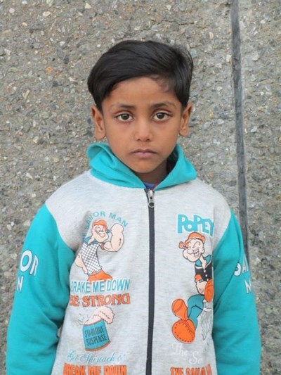 Help Aayush by becoming a child sponsor. Sponsoring a child is a rewarding and heartwarming experience.