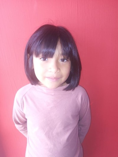 Help Ximena Aidé by becoming a child sponsor. Sponsoring a child is a rewarding and heartwarming experience.