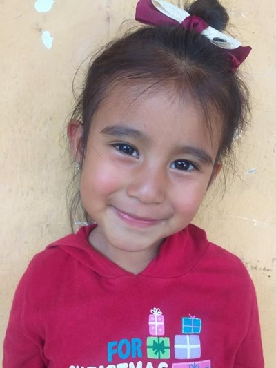 Help Zoe Atziri Patricia by becoming a child sponsor. Sponsoring a child is a rewarding and heartwarming experience.