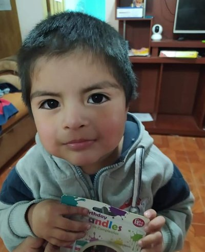 Help Alfonso Emiliano by becoming a child sponsor. Sponsoring a child is a rewarding and heartwarming experience.