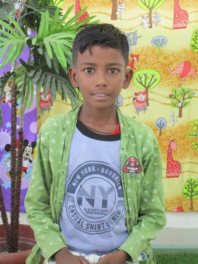 Help Vikas by becoming a child sponsor. Sponsoring a child is a rewarding and heartwarming experience.