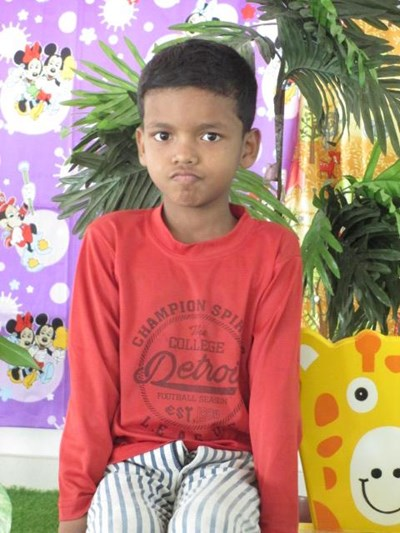 Help Krishna by becoming a child sponsor. Sponsoring a child is a rewarding and heartwarming experience.