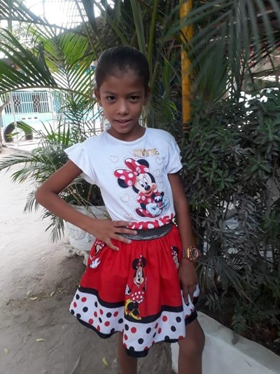 Help Adriana Lucia by becoming a child sponsor. Sponsoring a child is a rewarding and heartwarming experience.