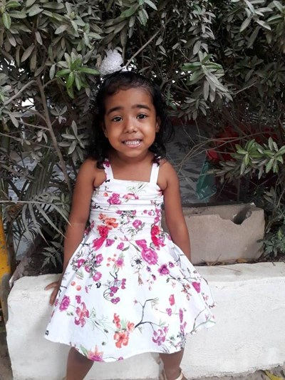 Help Oriana Sofia by becoming a child sponsor. Sponsoring a child is a rewarding and heartwarming experience.