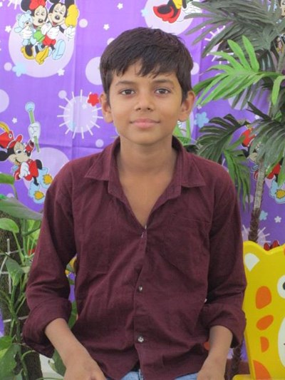 Help Nitin by becoming a child sponsor. Sponsoring a child is a rewarding and heartwarming experience.