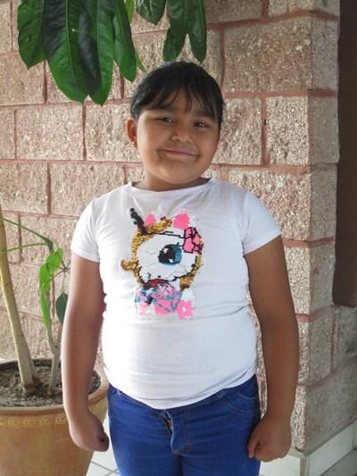 Ayude a Ariadne Guadalupe apadrinándole hoy. El apadrinamiento es una experiencia hermosa y gratificante.