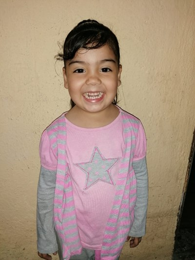 Help María Elisa by becoming a child sponsor. Sponsoring a child is a rewarding and heartwarming experience.