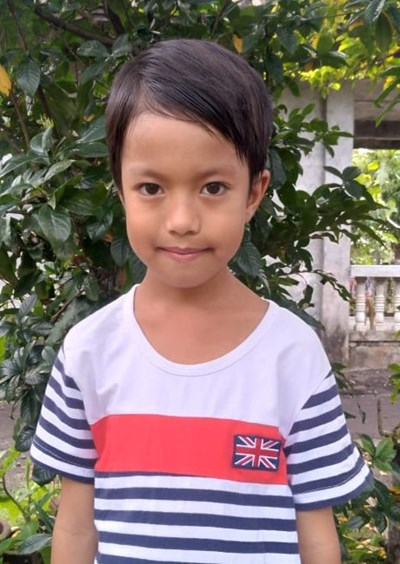 Help John Liam A. by becoming a child sponsor. Sponsoring a child is a rewarding and heartwarming experience.