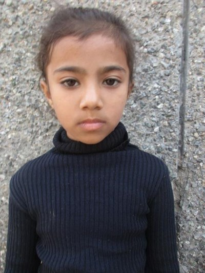 Help Aashiya by becoming a child sponsor. Sponsoring a child is a rewarding and heartwarming experience.