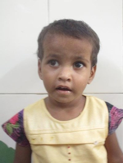 Help Kumari by becoming a child sponsor. Sponsoring a child is a rewarding and heartwarming experience.