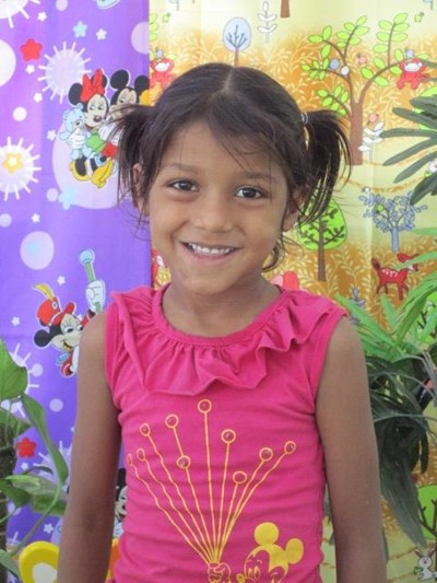 Help Khusboo by becoming a child sponsor. Sponsoring a child is a rewarding and heartwarming experience.